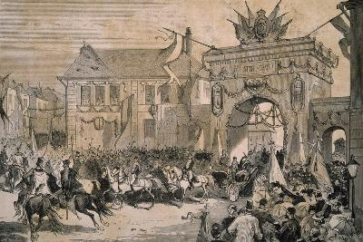Budapest 1881, Celebrating Rudolph of Hapsburg's Marriage, Habsburg Empire, Hungary