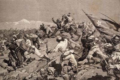 Battle of Tarapaca, Between Peruvian and Chilian Troops, November 27, 1879