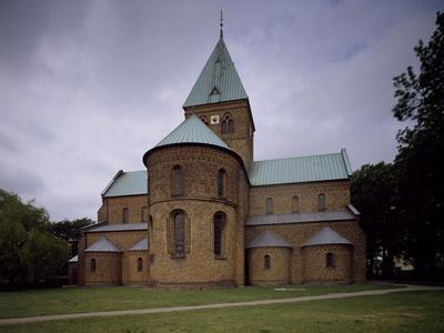 Exterior of Apse Dating from 1160-1175, St Benedict's Church, Ringsted, Denmark
