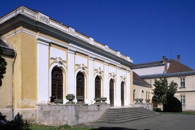 Exterior of Union Hall in Citadel of Alba Iulia, Romania