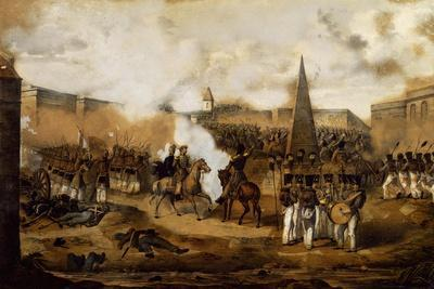Colonel Mariano Maza's Visit, October 29, 1841, During the Battle of Catamarca