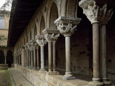 France, Moissac, St Pierre Abbey, Cloister from Late 11th Century