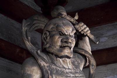 Statue from the Yasaka Shrine, Kyoto, Japan