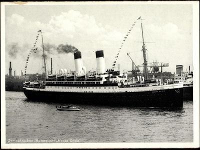 HSDG, Zweischrauben Motorschiff Monte Olivia,Dampfer