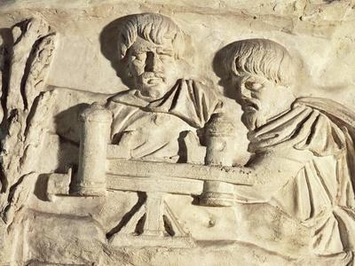Roman Civilization, Plaster Cast of Trajan's Column, Roman Carpenters at Work