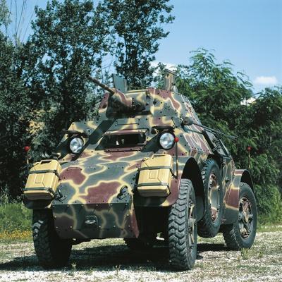 Italian AB 43 Armored Car, 1944