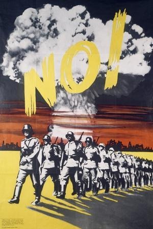 No, Pacifist Poster, Italy