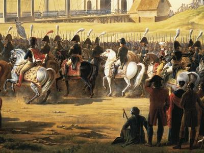 Napoleon Bonaparte Entering Gdansk