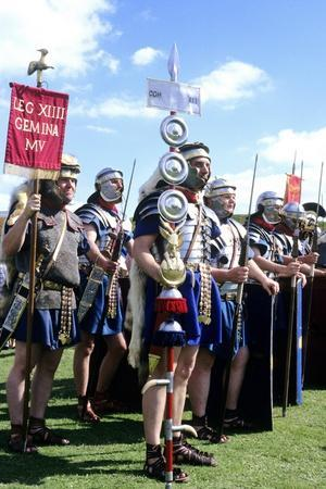 Roman Army, 14th Legion in Britain, Historical Re-Enactment