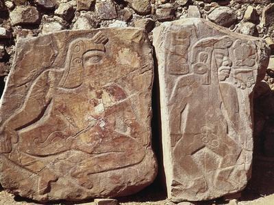 Stele of the Dancers, Mexico, Zapotec Civilization