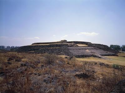 Mexico, Cuicuilco, Pyramid, Aztec Archaeological Site