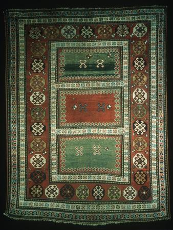 Rugs and Carpets: Caucasus Region - Kazak Borcialu Carpet