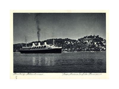 Hamburg Altona Blankenese, HSDG, Cap Arcona, Dampfer