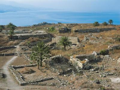 Lebanon, Byblos, Ruins of Houses Dating from Bronze Age