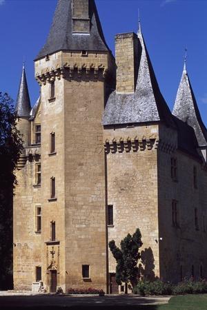View of Chateau De Clerans, Saint-Leon-Sur-Vezere, Aquitaine, France, 16th Century