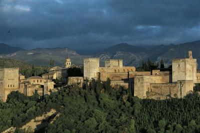 Spain, Andalusia Region, Granada Province, Granada, Alhambra Palace