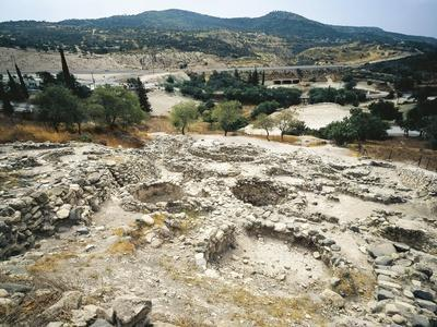 Cyprus, Larnaca District, Khirokitia, Remains of Neolithic Settlement