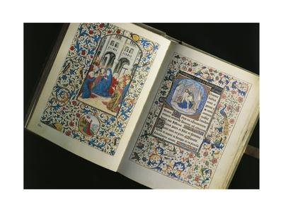 France, the Descent of the Holy Spirit, Miniature from the Breviary of Marie De Bourgogne,