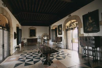 Dominican Republic, Colonial City of Santo Domingo, Alcazar De Colon, Interior