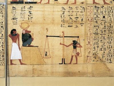 Mythological Papyrus of Imenemsauf, Chief Bearer of Amon