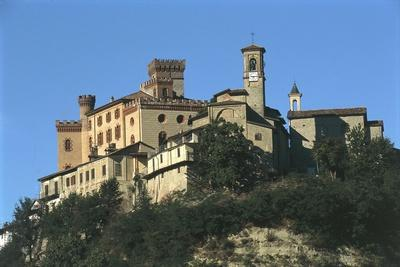 Italy, Piedmont, Castello Falletti Barolo Regional Wine Cellar and Ethnographical and Wine Museum