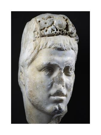 Marble Head of Emperor Alexander Severus, Artifact Uncovered in Istanbul, 3rd Century