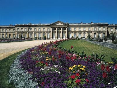 France, Compiegne, Castle and Garden View