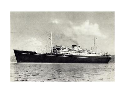 Arosa Line, Blick Auf Das Dampfschiff M.S. Arosa Sun