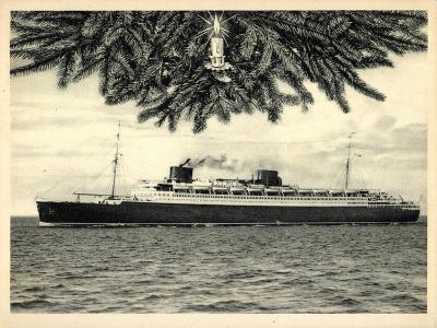 Norddeutscher Lloyd Bremen, Dampfer Bremen, Kerze