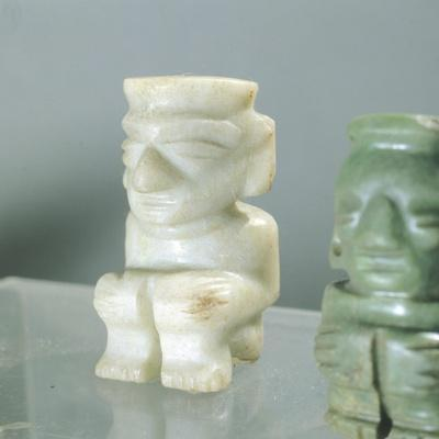 Hard Stone Figurine from Mexico, Mixtec Civilization