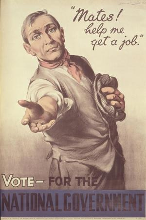 Election Poster for 1935 National Government