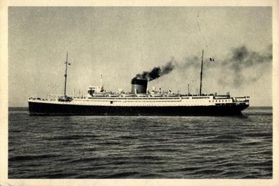 Dampfer De Grasse, Cgt, Transatlantique, Le Havre