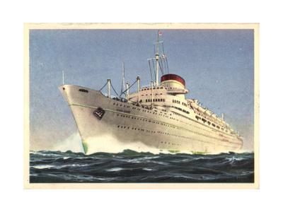 Italian Line, M.N. Giulio Cesare, Dampfschiff