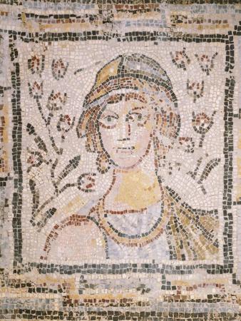 Mosaic Depicting Spring, 5th Century