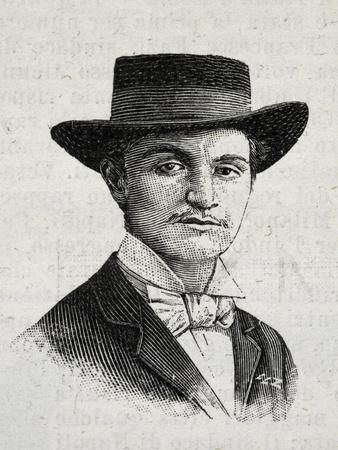 Portrait of Francesco Cassisa, Involved in De Felice Trial, 1894