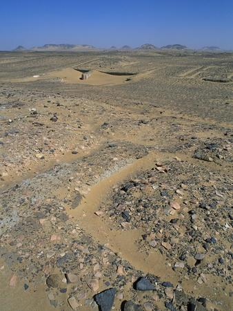 Remains of Roman Farm with Wine Cisterns, El Heiz, Giza, Egypt