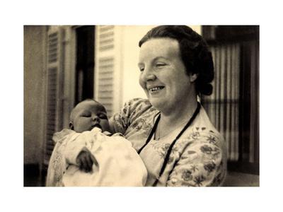 Prinzessin Juliana Der Niederlande Mit Baby