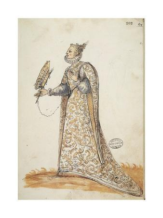 """Women's Fashion Plate from """"The Book of the Tailor"""""""