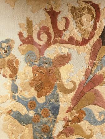 Felt Decoration with Phoenix, Scythian-Siberian Civilization, 5th-4th Century BC