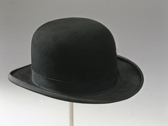 4cd427f48854d Hard Felt Hat with a Rounded Crown