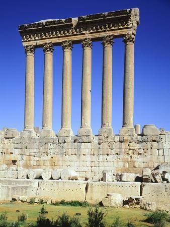 Lebanon, Heliopolis, Temple of Jupiter-Baal