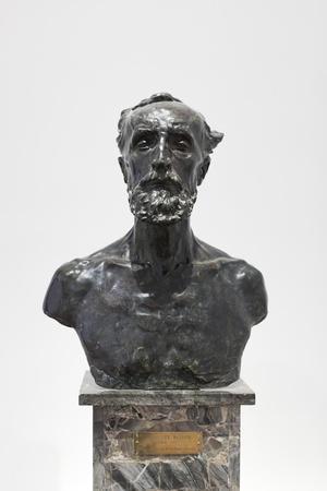 Bust of Jules Dalou, 1883