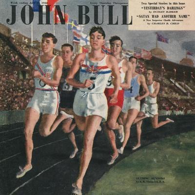 Front Cover of 'John Bull', July 1958
