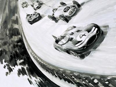 Grand Prix, Monza, Italy, in 1957