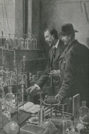 Two Great Experts in Science Confer