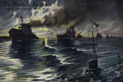 The Blockade of England, World War I