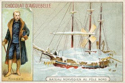 Chocolat D'Aiguebelle Trade Card