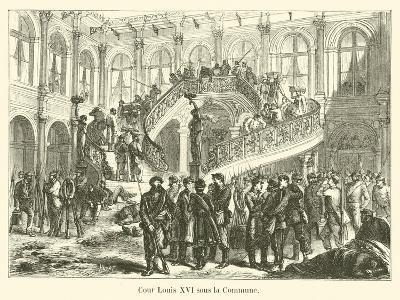 Cour Louis XVI Sous La Commune
