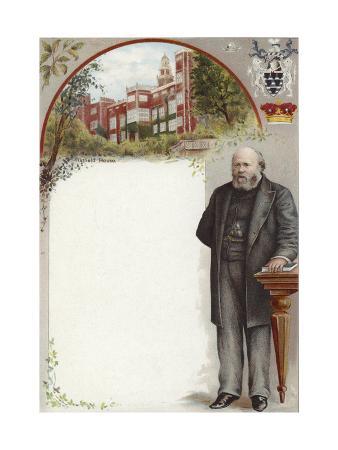 Liebig Card Featuring Lord Salisbury