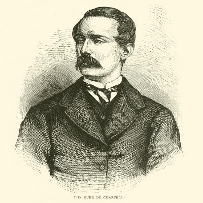 The Duke De Chartres, March 1871